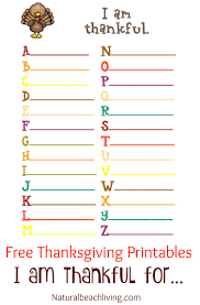 Thanksgiving Coloring And Activity Printables I Am Thankful Activities Crafts Ideas For