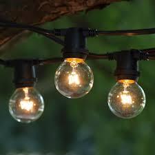 KLS15BK025E1740CL g40 mercial string lights 1