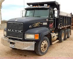 100 Mack Dump Trucks 1999 CL713 Triple Axle Dump Truck Item I1011 SOLD