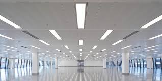 commercial led lighting modern place