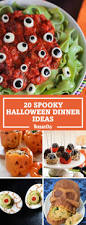 Ideas For Halloween Finger Foods by 25 Spooky Halloween Dinner Ideas Best Recipes For Halloween Dishes