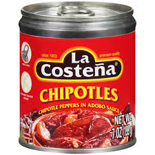 Chipotle Halloween Special Mn by La Costeña Chipotle Peppers In Adobo Sauce 7 Oz Can Walmart Com