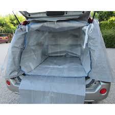 bache de protection coffre de voiture et intérieur de voiture