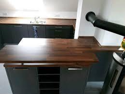 nussbaum arbeitsplatte für küche mit theke in hessen