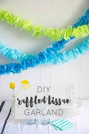 Tissue Paper Decorations Ideas Tissu On Crepe Birthday Party Pap