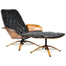 Plycraft Mr Chair By George Mulhauser by 1960s Luxe Lounge Chair And Ottoman By George Mulhauser For