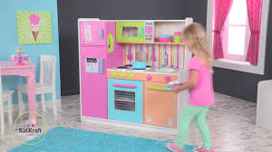 Kidkraft Grand Gourmet Corner Kitchen Play Set by Kidkraft Deluxe Big U0026 Bright Play Kitchen Youtube