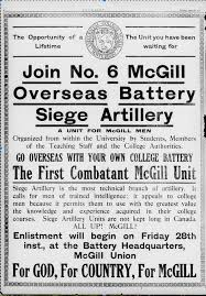 macdonald siege the majillses go to war mcgill s 7th siege battery at