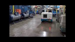 Commercial Floor Scrubbers Australia by Tennant Model 7400 Riding Floor Scrubber M2089 Youtube