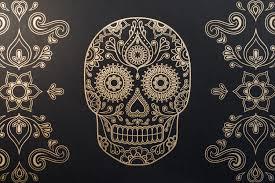Easy Sugar Skull Day Of by Street Anatomy Gallery Store U2014 Day Of The Dead Sugar Skull