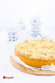 streuselkuchen rezept mit puddingfüllung der kuchenklassiker