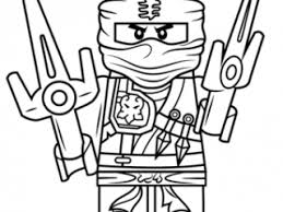 Ninjago Coloring Pages Jay Lego Zx Page Free