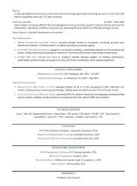 Resume Template For Accountant Templates Accounting Sample Best