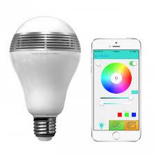 playbulb color bluetooth smart led light with speaker