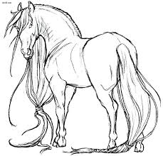 Spirit Horse Coloring Pages Printable Horses Book At Online
