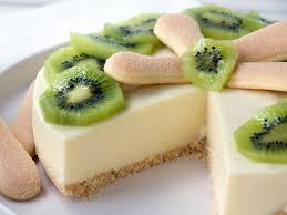 philadelphia torte mit kiwi