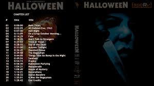 Halloween 2007 Full Soundtrack by Halloween Sporv Bd 25 Released Original Trilogy