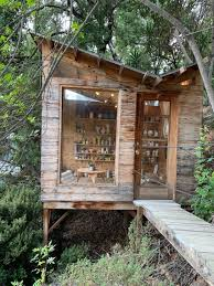 100 Tree House Studio Wood Artist And Architect Convert Backgarden Shed Into Pottery