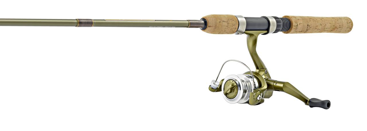 Microlite Ultralight Spinning Combo - Aluminum Spool, Stainless Steel Hoods