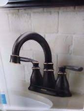 Moen Kingsley 2 Handle Bathroom Faucet by Bathroom Moen Bronze Home Faucets Ebay