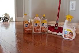 pledge to keep your wood floors clean promise and a giveaway