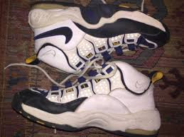 Special For Shoe Vintage Nike Basketball Sneakers White And Navy With 3M Size 11 Q824000000383