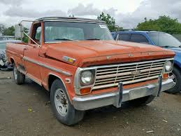 100 1969 Ford Truck For Sale Auto Auction Ended On VIN F25YRF14683 F150 In CA