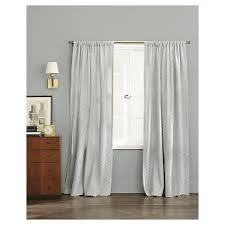Nate Berkus Herringbone Curtains by Woven Curtain Panel Gray Nate Berkus Target