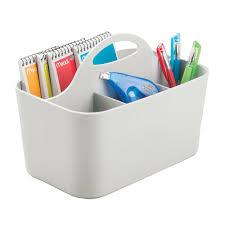 Desk Drawer Organizer Amazon by Amazon Com Mdesign Office Supplies Desk Organizer Tote For