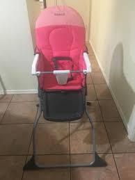 Cosco Slim Fold High Chair Recall by Cosco Simple Fold High Chair Colorblock Coral Walmart Com
