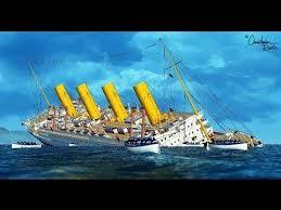 britannic based on 2002 theory sinking youtube bateau