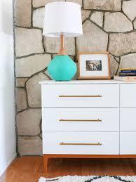 Ikea Tarva 6 Drawer Dresser Hack by Mid Century Modern Dresser Diy From Ikea Hack