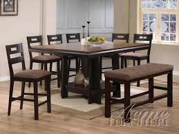 5 Piece Counter Height Dining Room Sets by Harrison 5 Piece Counter Height Dining Set In Espresso Finish