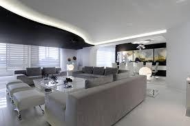 canapé gris design appartement blanc et design canape gris