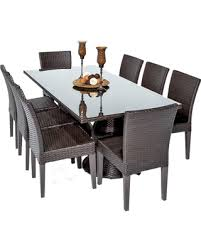 Fall Savings On Saturn Outdoor Dining Table With Armless Chairs 9