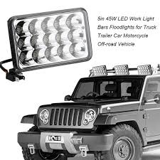DICN 1 Pair 5in 45W LED Work Lights Floodlights For Off-road Truck ... 4x 4inch Led Lights Pods Reverse Driving Work Lamp Flood Truck Jeep Lighting Eaging 12 Volt Ebay Dicn 1 Pair 5in 45w Led Floodlights For Offroad China Side Spot Light 5000 Lumen 4d Pod Combo Lights Fog Atv Offroad 3 X 4 Race Beam Kc Hilites 2 Cseries C2 Backup System 519 20 468w Bar Quad Row Offroad Utv Free Shipping 10w Cree Work Light Floodlight 200w Spotlight Outdoor Landscape Sucool 2pcs One Pack Inch Square 48w Led Work Light Off Road Amazoncom Ledkingdomus 4x 27w Pod