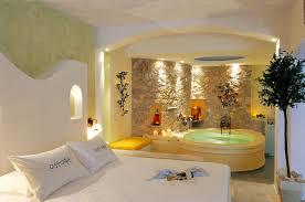 chambre suite avec astarte suites santorini suites de luxe honeymoon hôtel