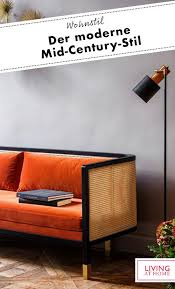 wohntrend mid century design 60er möbel