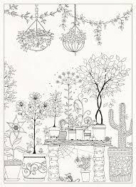 Johanna Basfords Secret Garden Colouring Postcards