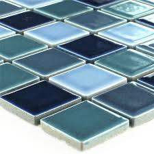 mosaikfliesen keramik bodaway blau mix glänzend