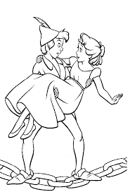 Tinkerbell And Peter Pan Coloring Pages To Print 298465