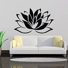 Lotus Flower Wall Decal Vinyl Sticker Decor Home Interior Design Bedroom Bathroom