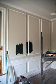 Picture Frame Molding Dining Room Wall Design