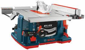 Sawstop Cabinet Saw Australia by Bosch Reaxx Table Saw