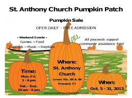 Pumpkin Picking In Waterbury Ct by St Anthony Church Prospect Pumpkin Patch Naugatuck Ct Patch