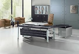 Small Glass And Metal Computer Desk by Furniture L Shaped Office Computer Desk With Glass Top And Chrome