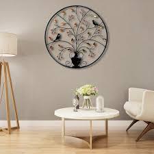 metall eisen rund wand dekor ornamente kreative wanddekorationen wohnzimmer hintergrund wand kunst metall dekoration 62 cm
