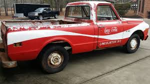 One Of A Kind 1970 C10 Coke Truck Patina Or Shop Truck - Used ... 1970 Gmc 13 Ton Flatbed Truck The Page Chevy C10 Pickup For Sale Copenhaver Cstruction Inc Large Plastic Tonka Dump And Peterbilt 365 Plus Caterpillar Chevy Chevrolet K10 Short Bed 4x4 Ck 1500 Photo K5 Blazer Crimson Red Metallic My Production Of F150 Other Ford Models Suspended Amid Sales Drop Used Gmc Trucks Nsm Cars Rust Free Pickups C20 Camper Special Vintage For Sale Flashback F10039s Or Soldthis Page Is Dicated 2500 Custom Online Auction Youtube Volkswagen Baja Beetle Classiccarscom Cc923868