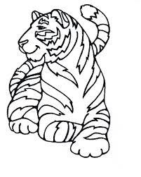 112 Dessins De Coloriage Tigre à Imprimer