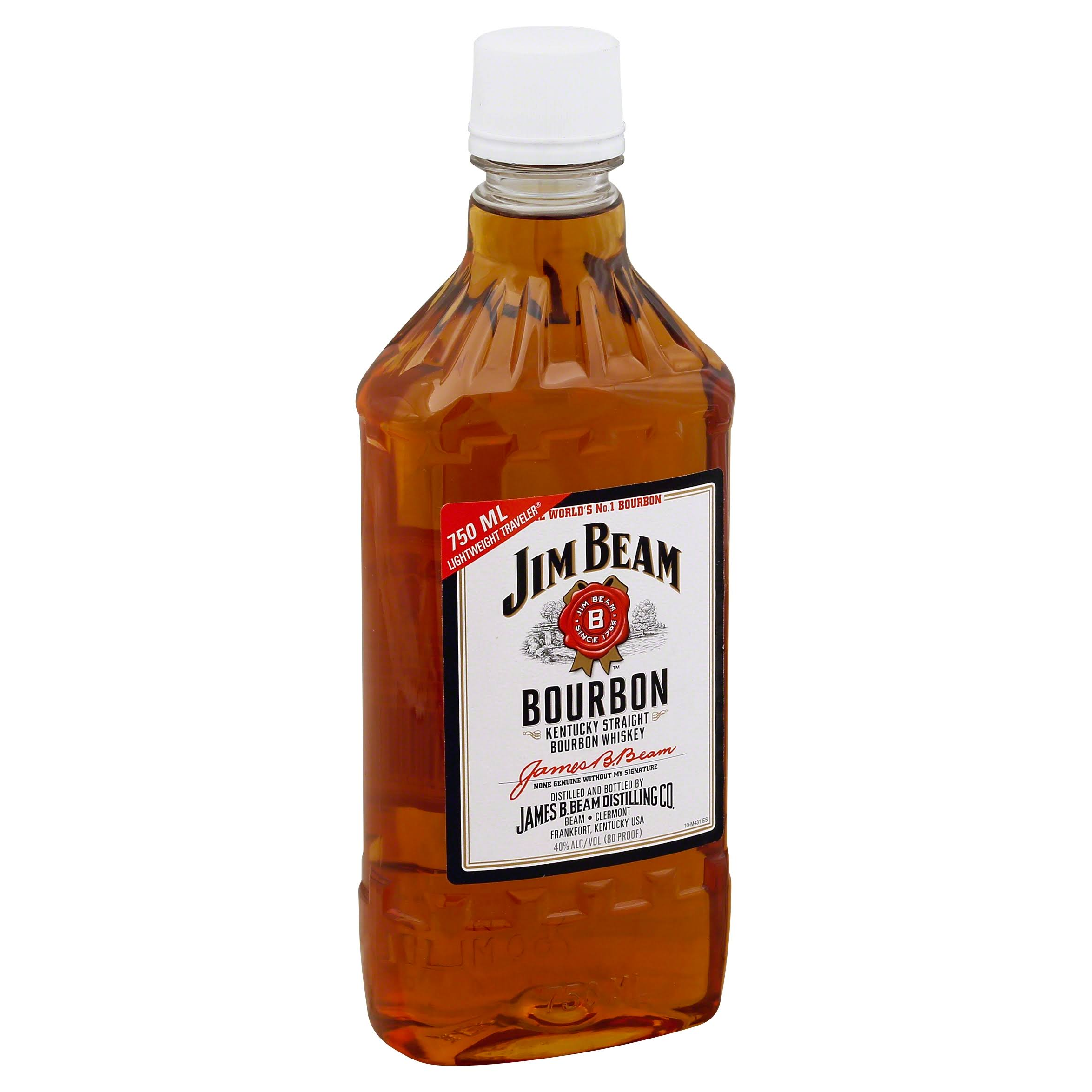 Jim Beam Whiskey - Kentucky Straight Bourbon, 750ml